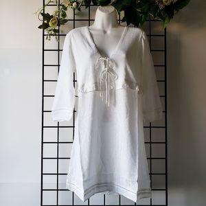Tavik+ Benson Dress White Coverup XS